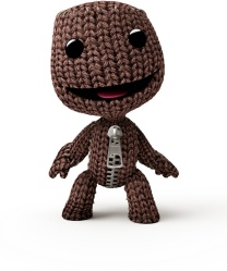 Sack person from Little Big Planet