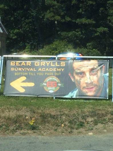 Bear Grylls Survival Academy - Bottom 'til you pass out
