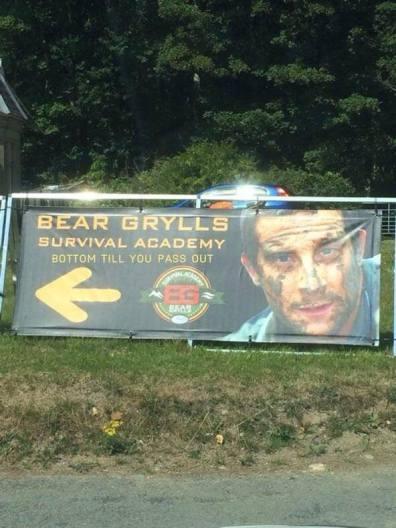 Bear Grylls Survival Academy - Bottom 'til you pass out